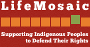 LifeMosaic Logo - Supporting Indigenous Peoples to Defend Their Rights